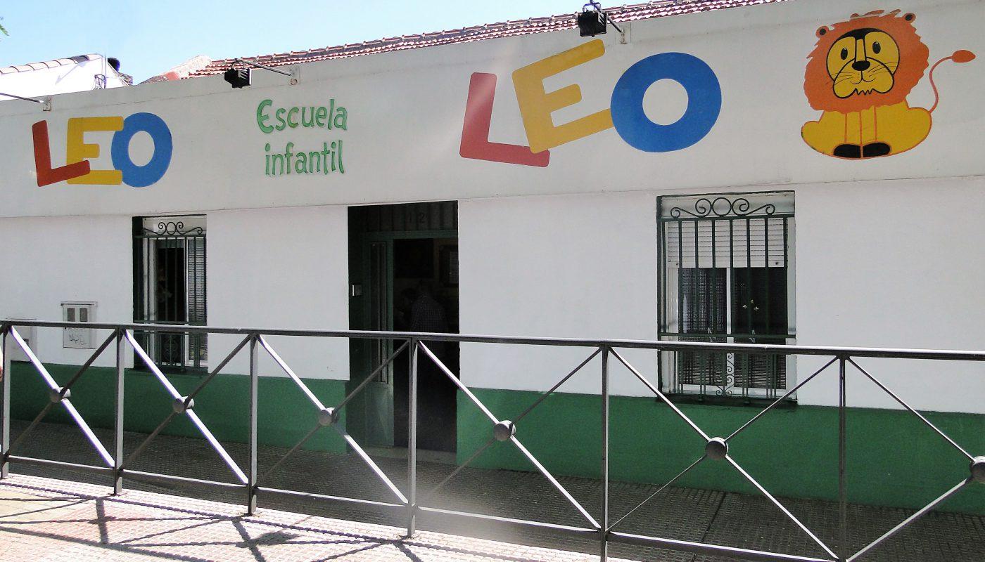 Fachada escuela infantil Leo Leo