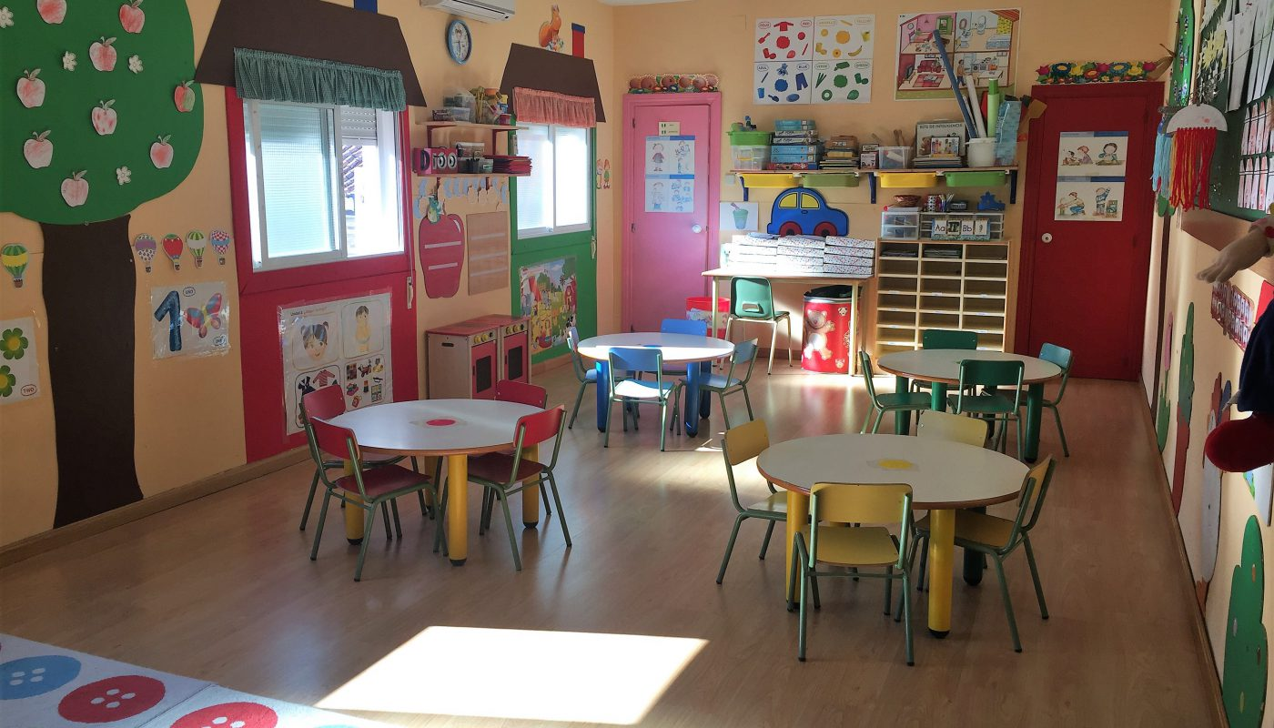 Aula 1 escuela infantil Leo Leo