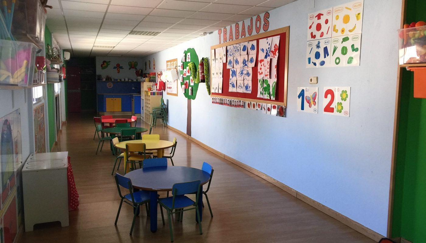 Aula 2 escuela infantil Leo Leo