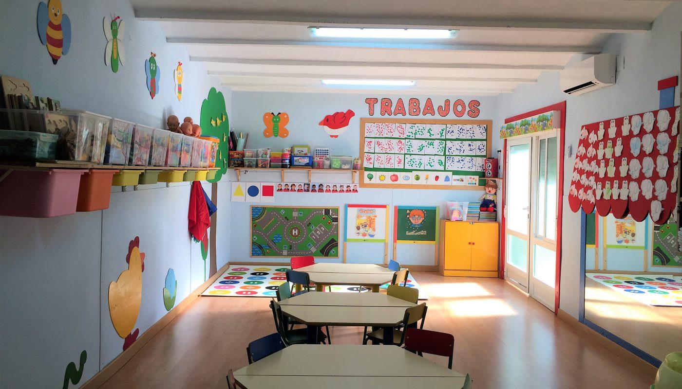 Aula 3 escuela infantil Leo Leo